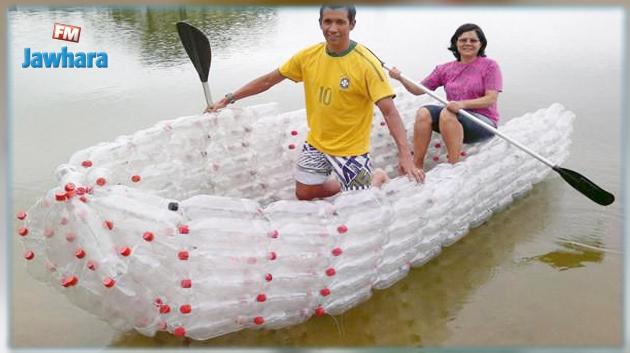 قوارب-من-القوارير-البلاستيكية-في-شواطئ-نابل