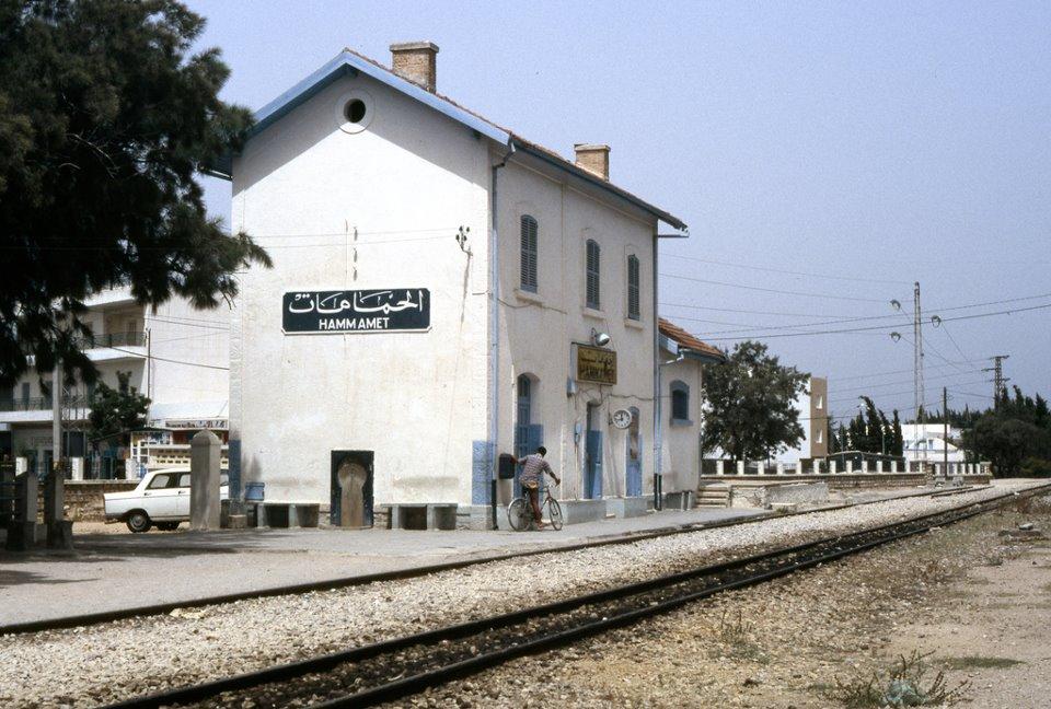 gare de hammamet nabeul tunisie